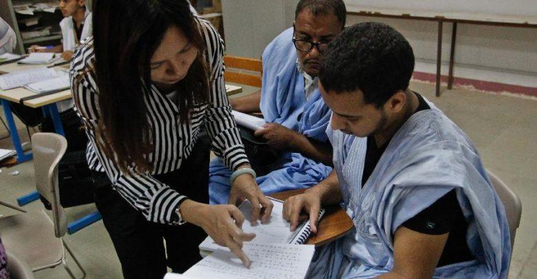 صورة اهتمام صيني بطلاب قسم اللغة الصينية بجامعة نواكشوط