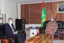 صورة وزيرة السياحة و التجارة  تلتقي سفير الصين