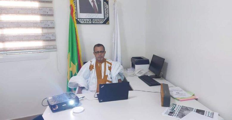 صورة ولد الواقف يشارك في لقاء افتراضي نظمه الحزب الشيوعي الصيني