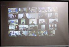 صورة الحزب الحاكم الموريتاني يشارك في جلسة إحاطة حول إقليم شينجيانغ
