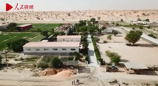 صورة الصين تصنع المعجزات في صحراء موريتانيا