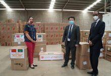 صورة بيان من السفارة الصينية بنواكشواط حول دعم موريتانيا باللقاحات