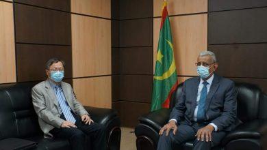 صورة رئيس UPR يلتقي سفير الصين